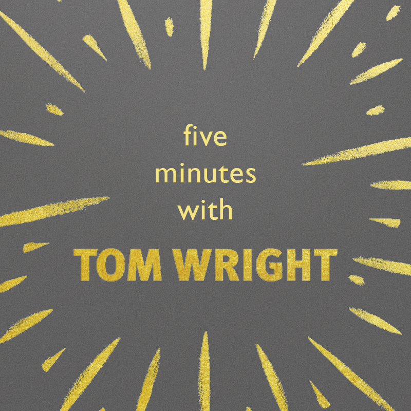 Five Questions about Paul with Tom Wright