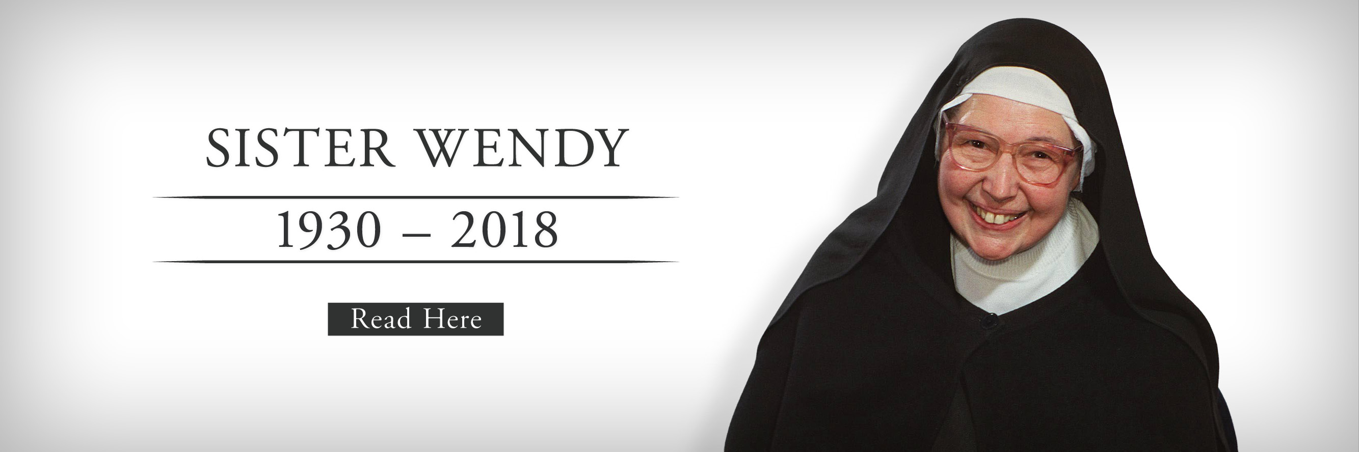 Remembering Sister Wendy