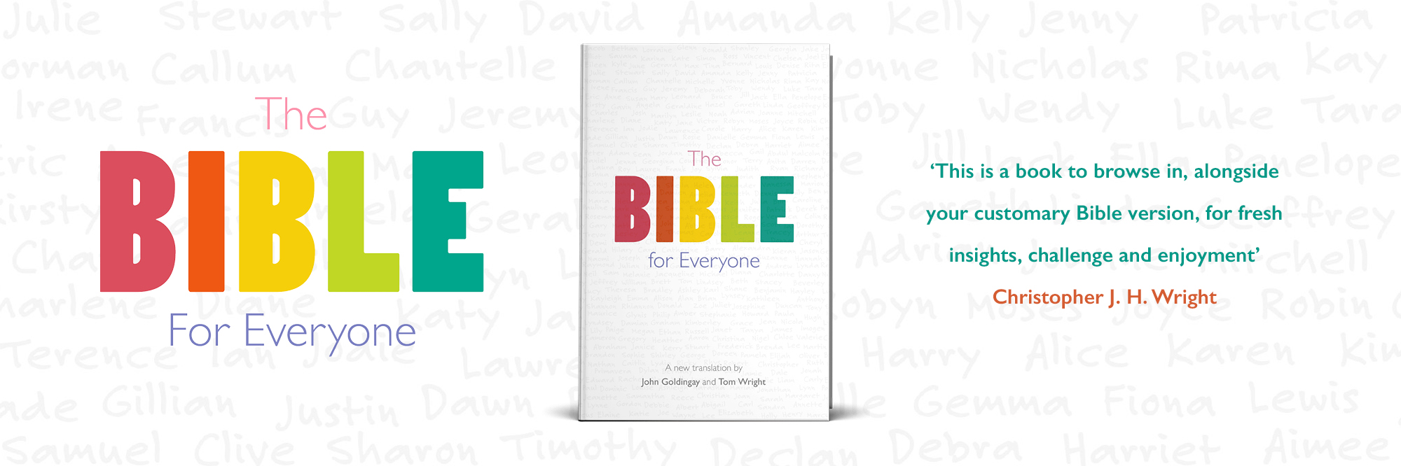The Bible for Everyone by John Goldingay and Tom Wright